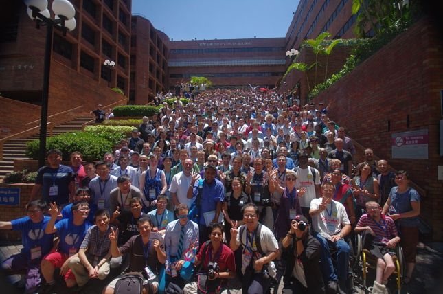 Wikimania 2013 group photo